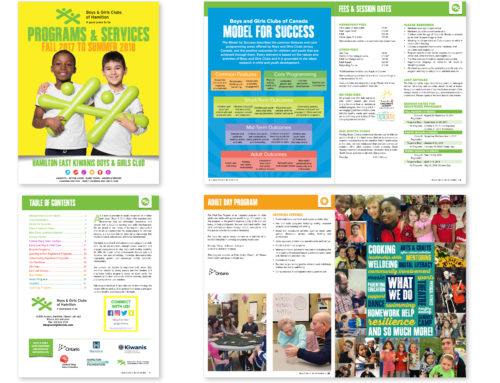 Boys and Girls Club Catalogue 2017