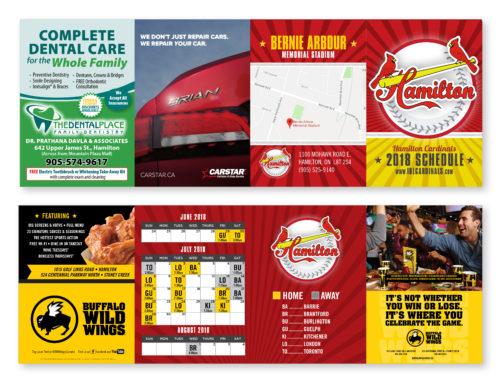 Hamilton Cardinals Schedule