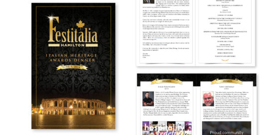 Festitalia Awards Dinner Book