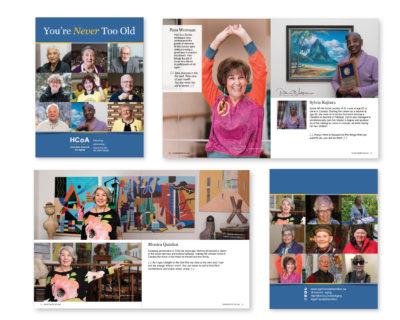 Booklet design HCoA