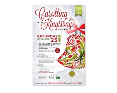 Kingsway BIA Concert Poster
