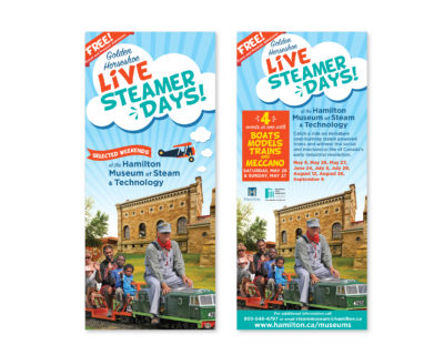 City of Hamilton Steamer Days Brochure