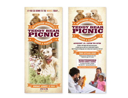 City of Hamilton Teddy Bear Picnic Brochure