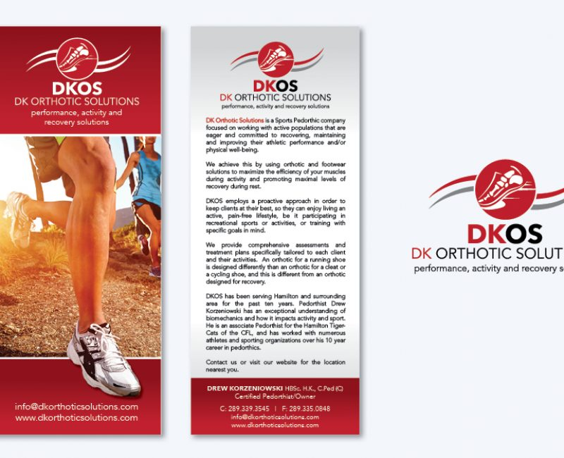 DK Orthotic Solutions Logo