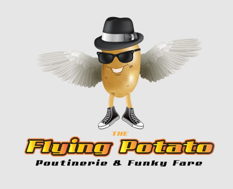 The Flying Potato Logo